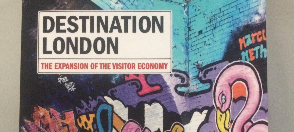 Destination London magazine cover