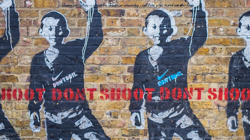 Shoreditch street art – Banksy
