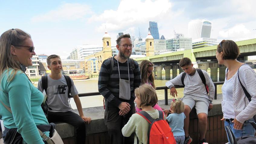 David's London Bridge tour
