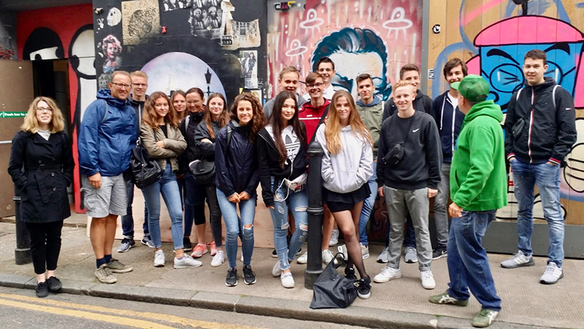 Pete's Brick Lane School Group tour