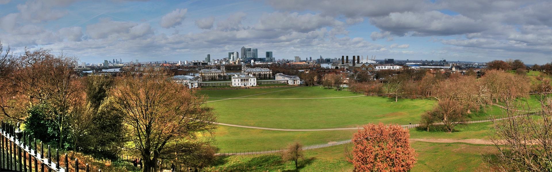 London in Summer, Greenwich