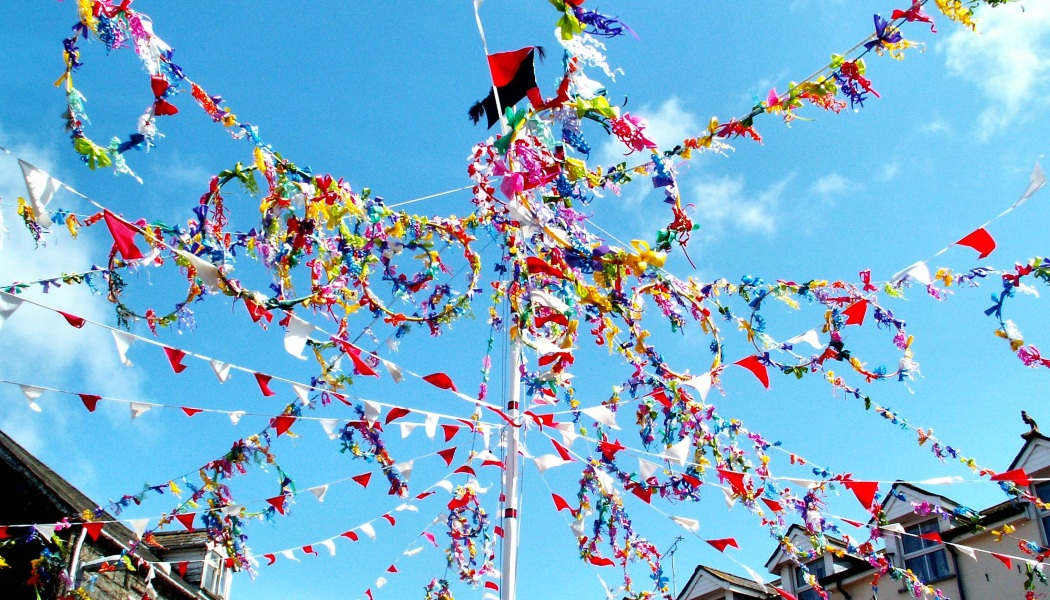 Unknown Facts about May Day, Flags in Celebration