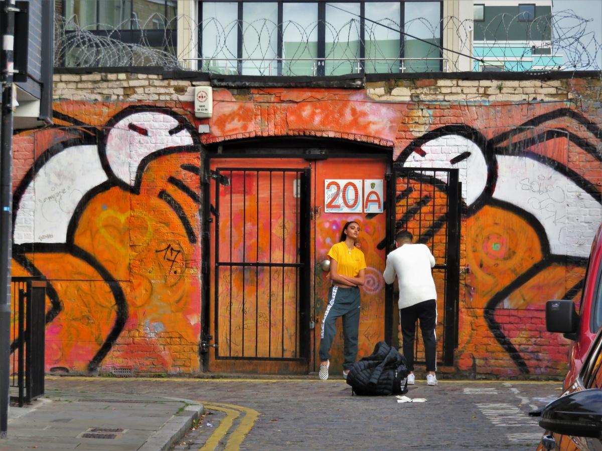 Graffiti Artist Stik